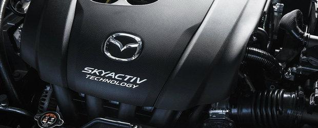 Mazda prezinta noua gama de motoare pe benzina Skyactiv-X: fara bujii si cu aprindere prin compresie