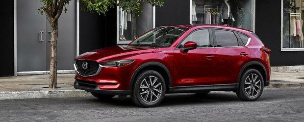 Mazda prezinta noua generatie CX-5. SUV-ul nipon vine cu un design familiar si mai mult spatiu interior