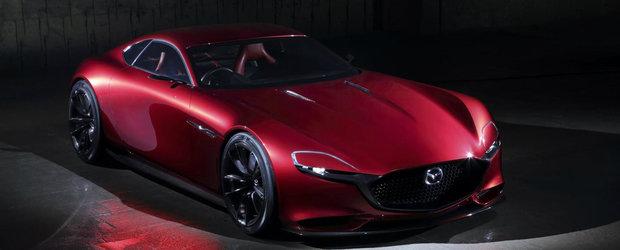 Mazda RX Vision Concept ne prezinta urmatoarea generatie de masini sport cu motor rotativ