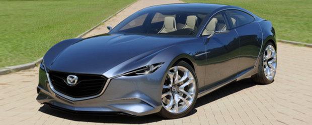 Mazda Shinari Concept arata spectaculos in persoana!