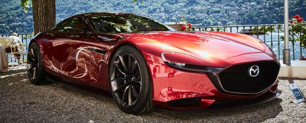 Mazda vorbeste din ce in ce mai mult despre noul RX. Un lucru e sigur: va avea DOAR motor rotativ