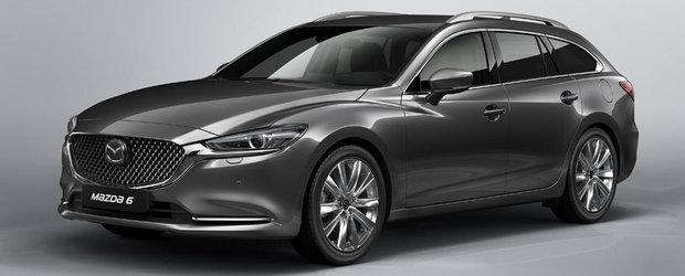 Mazda6 Wagon a primit un bine-meritat facelift. Lupta cu Passat-ul Variant se intensifica