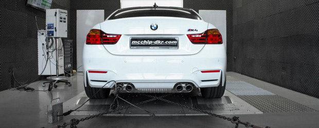 mcchip-dkr modifica noul BMW M4, cu rezultate exceptionale
