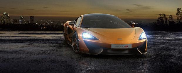 McLaren 570S Coupe soseste la New York cu 570 CP sub capota