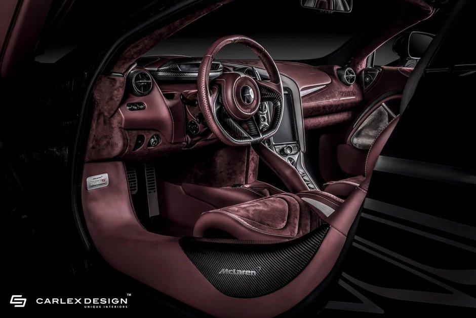 McLaren 720S cu interior de la Carlex