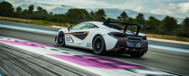 McLaren a dezvelit cel mai nou model de curse din gama Sports Series