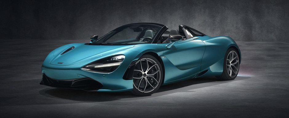 McLaren are de azi o decapotabila 3 in 1. Plafonul retractabil devine transparent la simpla apasare a unui buton