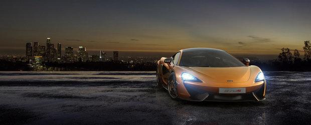 McLaren deschide lista de comenzi pentru modelul 570S