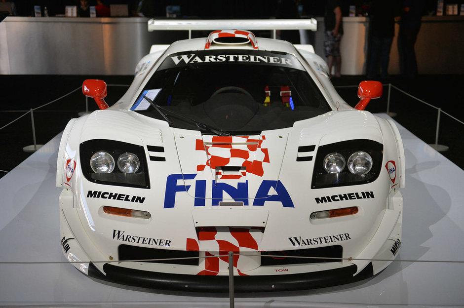 McLaren F1 GTR Longtail la Barrett-Jackson 2014