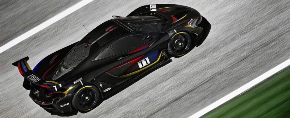 McLaren il omagiaza pe James Hunt cu o editie speciala a P1-ului GTR