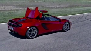McLaren MP4-12C Spider - Video Oficial