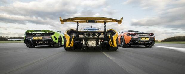 McLaren nu neaga ca ar pregati un concurent pentru Porsche Panamera