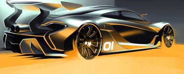 McLaren P1 GTR ni se arata intr-o noua imagine oficiala