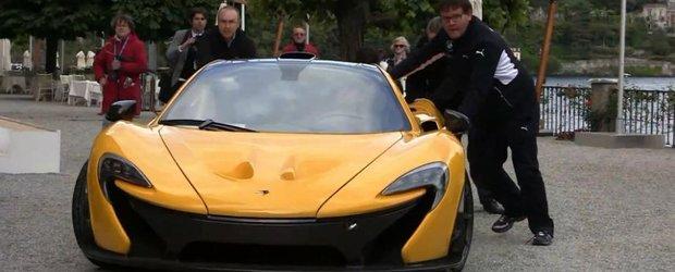 McLaren P1 se strica la concursul de eleganta de la Villa d'Este