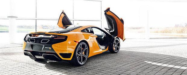McLaren pregateste un rival pentru Ferrari 458 Speciale. Cati cai va avea noul model