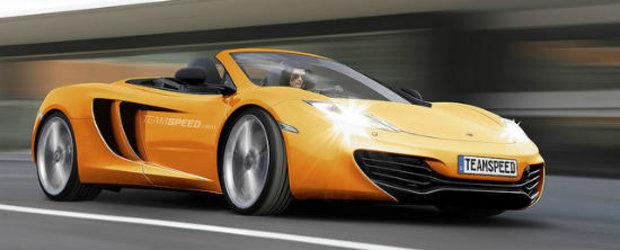 McLaren pregateste versiunea Spider a noului MP4-12C
