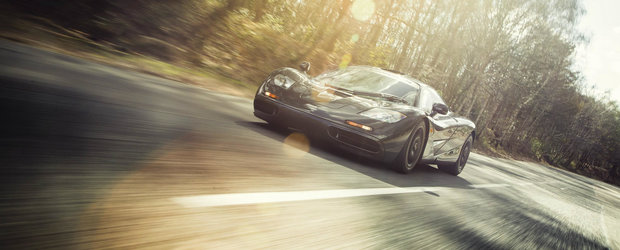 McLaren scoate la vanzare un F1 aproape nou. Masina britanica are doar 4500 km la bord