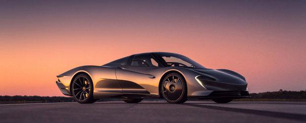 McLaren Speedtail este gata de productie. Prototipul a depasit bariera celor 400 de km/h in repetate randuri