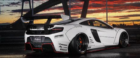 McLaren-ul 650S a primit un pachet de tuning de la Liberty Walk care costa cat o masina de lux noua