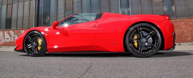 MEC Design renunta la Mercedes-uri pentru a modifica un Ferrari 458 Spider