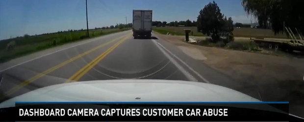Mecanic concediat dupa ce a folosit masina clientului pentru 320 kilometri