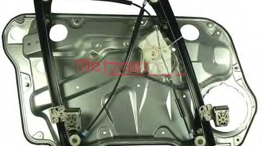 Mecanism actionare geam VW BORA (1J2) (1998 - 2005) METZGER 2160073 piesa NOUA