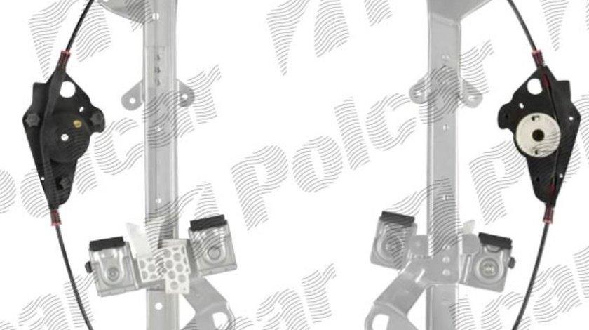 Mecanism ridicare geam Ford Fiesta (JHS) 01.2002-2008 Fata partea Stanga pt modele cu 5 usi, electrica fara motoras