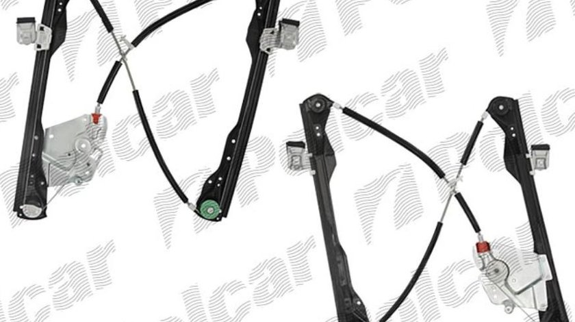 Mecanism ridicare geam Ford Focus 1 09.1998-11.2004 5 Usi Fata Stanga (fara motor), electrica, pt motor cu 2pini