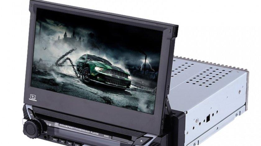 Media Player 7 cu touchscreen DVD, MP3, MP4, bluetooth, 1DIN, COD:9505 AutoCars