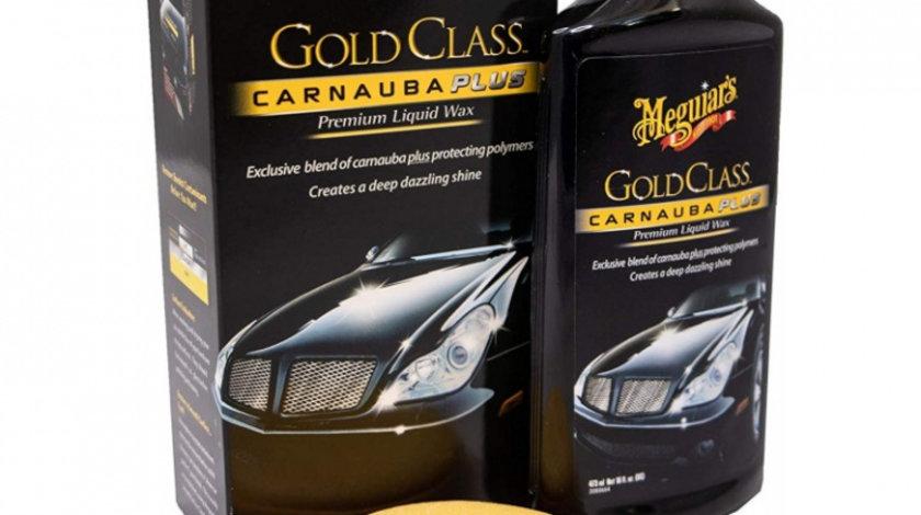 Meguiar's Ceara Lichida Gold Class Liquid Car Wax Carnauba Plus 473ML G7016