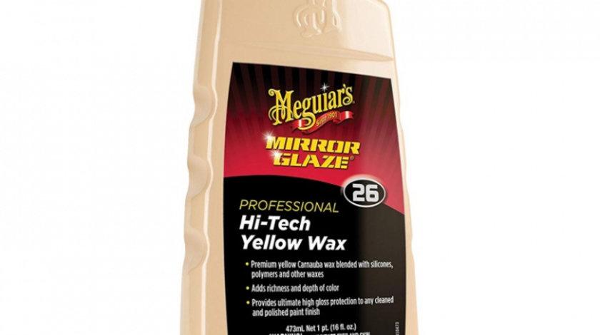Meguiar's Ceara Protectie Hi-Tech Professional Hi-Tech Yellow Wax 473ML M2616