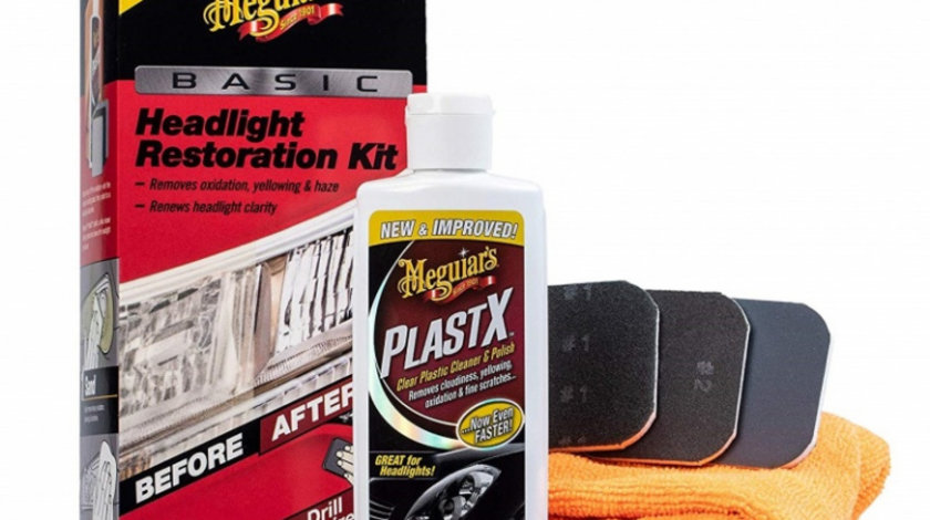 Meguiar's Kit Polish Faruri Headlight Restoration Kit G2960