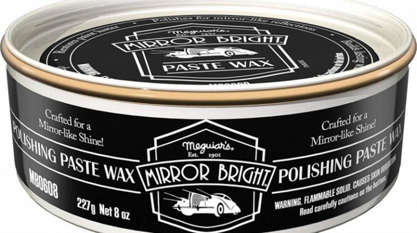 Meguiar's Pasta Polish Mirror Bright Polishing Paste Wax 227G MB0608EU