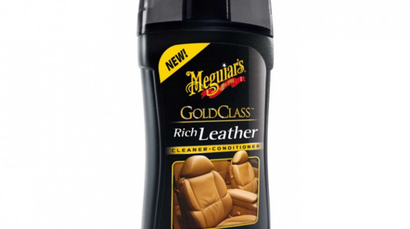 Meguiar's Solutie Curatare Si Intretinere Piele Premium Conditioner Gold Class Rich Leather 400ML G17914EU