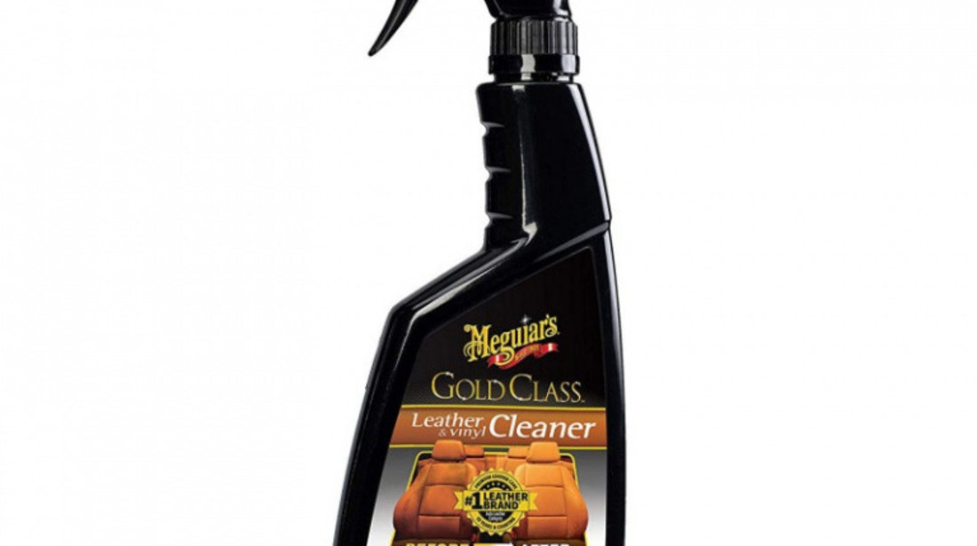 Meguiar's Solutie Curatat Piele Si Vinilin Gold Class Leather Cleaner 473ML G18516EU