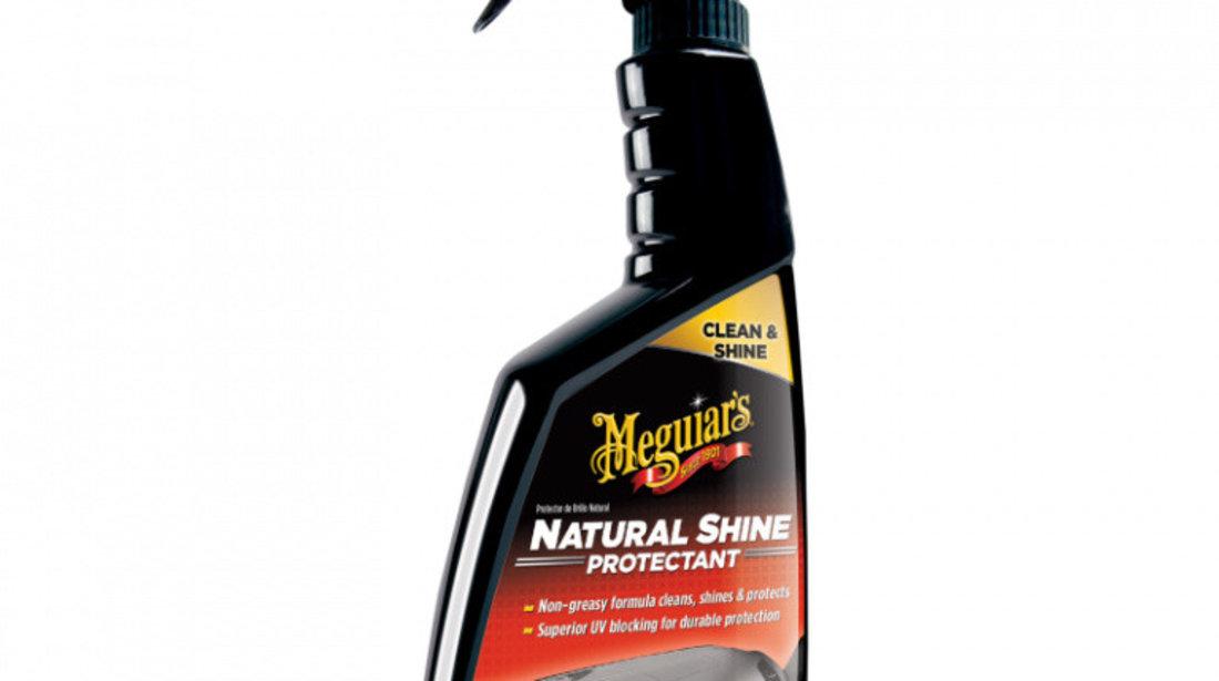 Meguiar's Solutie Curatat Vinilin Si Plastic Natural Shine Protectant 473ML G4116