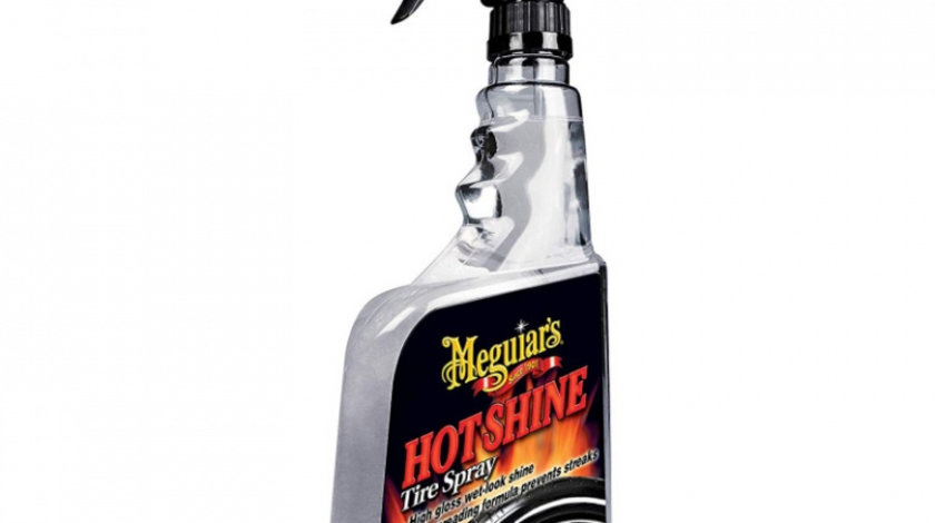 Meguiar's Solutie Luciu Cauciucuri Hot Shine Tire Spray Trigger 710ML G12024