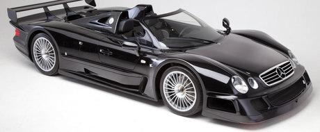 Mein Gott! Britanicii scot la licitatie un Mercedes CLK GTR Roadster nou-nout!