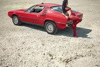 Melisa Mendini si Alfa Romeo Montreal