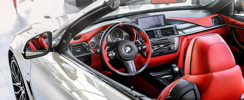 Meniul Zilei: Ce-ai zice de un BMW Seria 4 cu... interior rosu aprins?