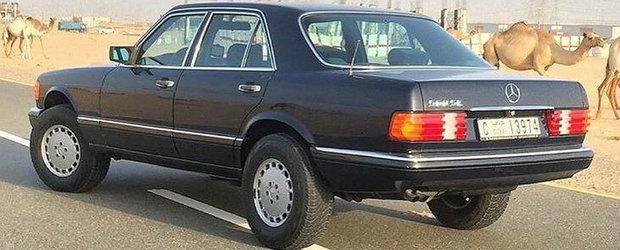 Meniul Zilei: Ce-ai zice de un Mercedes 300SE... suprainaltat?