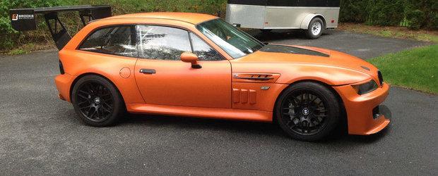 Meniul Zilei: Ce-ai zice de un Z3 M cu motor de Corvette si eleron urias?