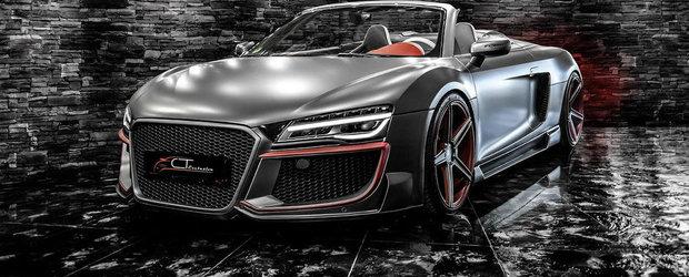 Meniul Zilei: Un Audi R8 cu tuning SF si pret pe masura