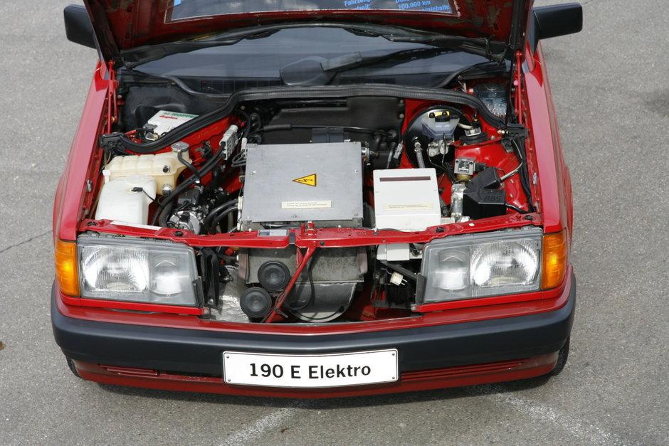 Mercedes 190 electric