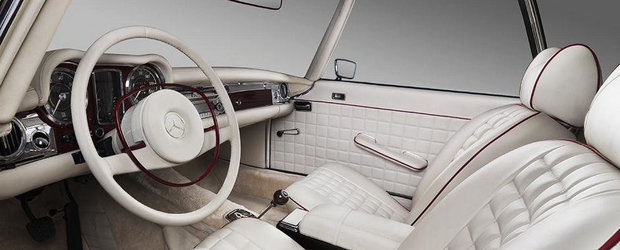 Mercedes 280SL by Overdrive - Restaurare ca la carte