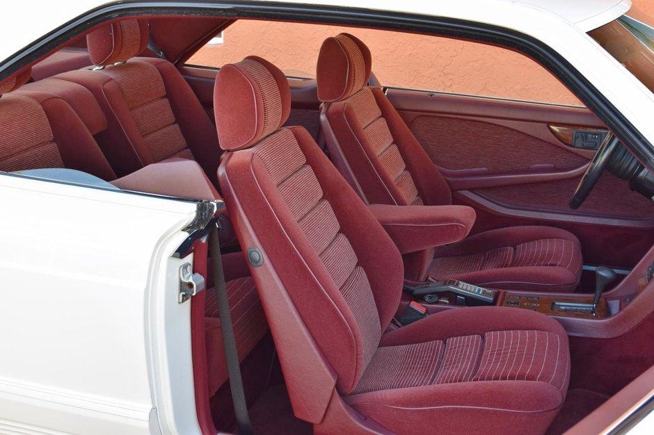 Mercedes 500 SEC de vanzare
