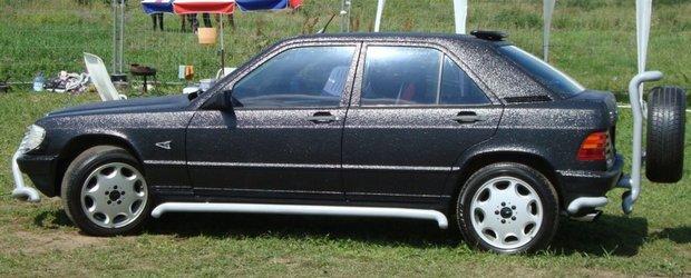 Mercedes 90E - Russian Tuning Style, kitsch sau capodopera?