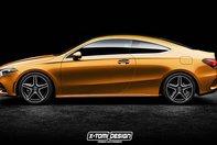 Mercedes A-Class Coupe - Ipoteza de design
