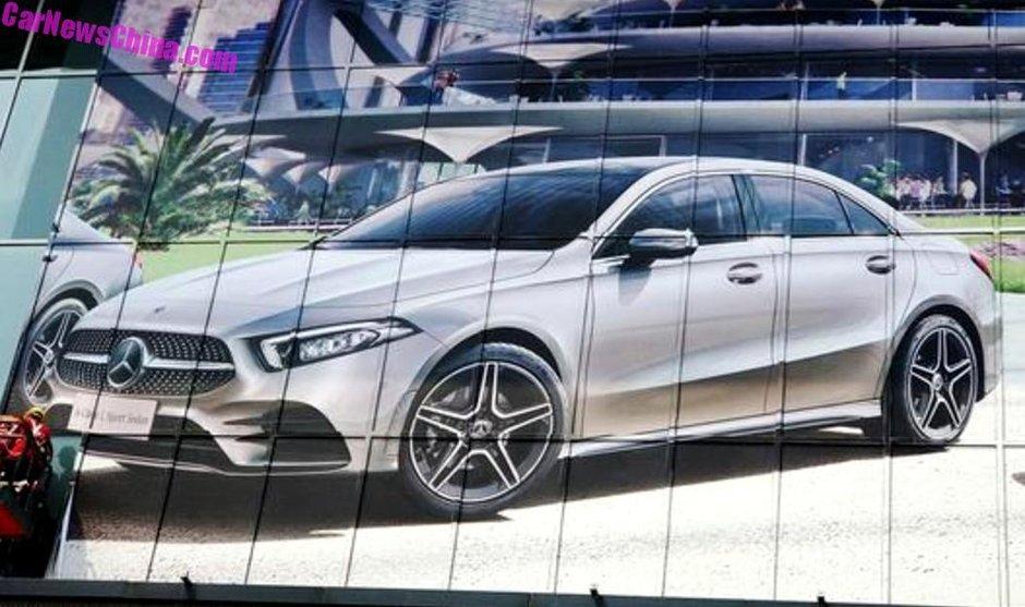 Mercedes A-Class Sedan - Prima poza