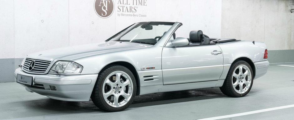 Mercedes a construit numai 12 exemplare. Unul a fost tinut in muzeul nemtilor iar acum este de vanzare